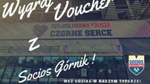 Wygraj Voucher z Socios Górnik