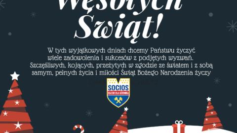 Wesołych Świąt życzy Socios Górnik!