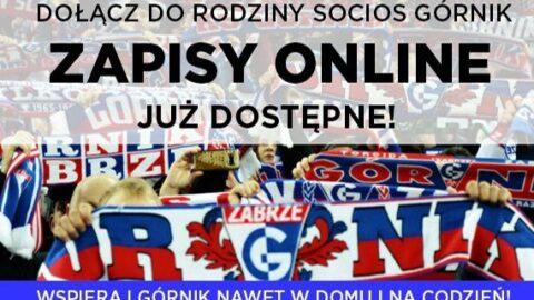 Dołącz do Rodziny Socios Górnik